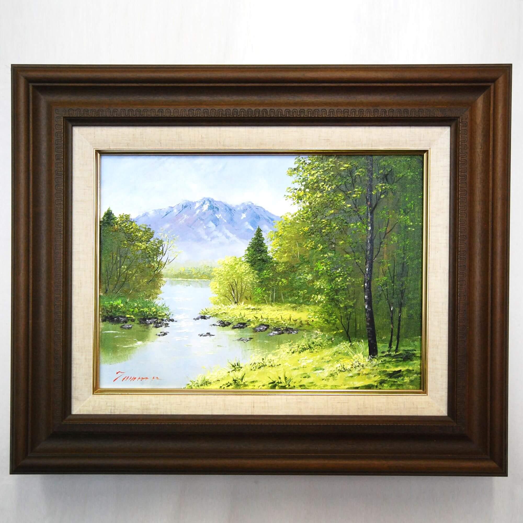 絵画: 油絵 | 田村清輝 | 南木曽 | F04