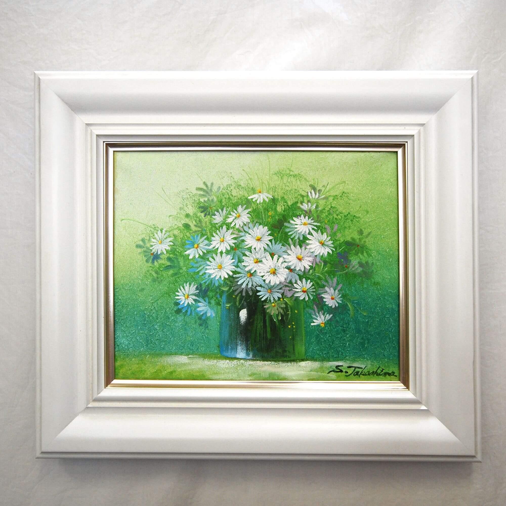 絵画: 油絵 | 高島彩子 | 花: コスモス | F03