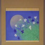 0104 Kakejiku with Mid-Autumn Moon Painting / Tomo Katou 002