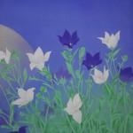 0104 Kakejiku with Mid-Autumn Moon Painting / Tomo Katou 003