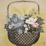 0106 Autumn Flowers Painting / Susumu Kawahara 003