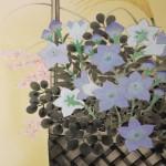 0106 Autumn Flowers Painting / Susumu Kawahara 005