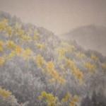 0115 Autumn Scenery of Chichibu Mountains Painting / Keiji Yamazaki 006