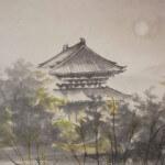 0116 Autumn Scenery of Chichibu Mountains Painting / Keiji Yamazaki 003