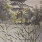 0116 Autumn Scenery of Chichibu Mountains Painting / Keiji Yamazaki 005