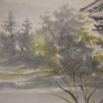 0116 Autumn Scenery of Chichibu Mountains Painting / Keiji Yamazaki 006