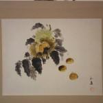 0113 Chestnut Painting / Gyokuei Miyadai 003
