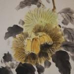 0113 Chestnut Painting / Gyokuei Miyadai 004