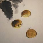0113 Chestnut Painting / Gyokuei Miyadai 005