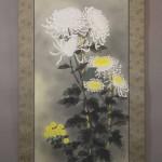 0114 Chrysanthemum Painting / Kiyoyasu Morishima 003