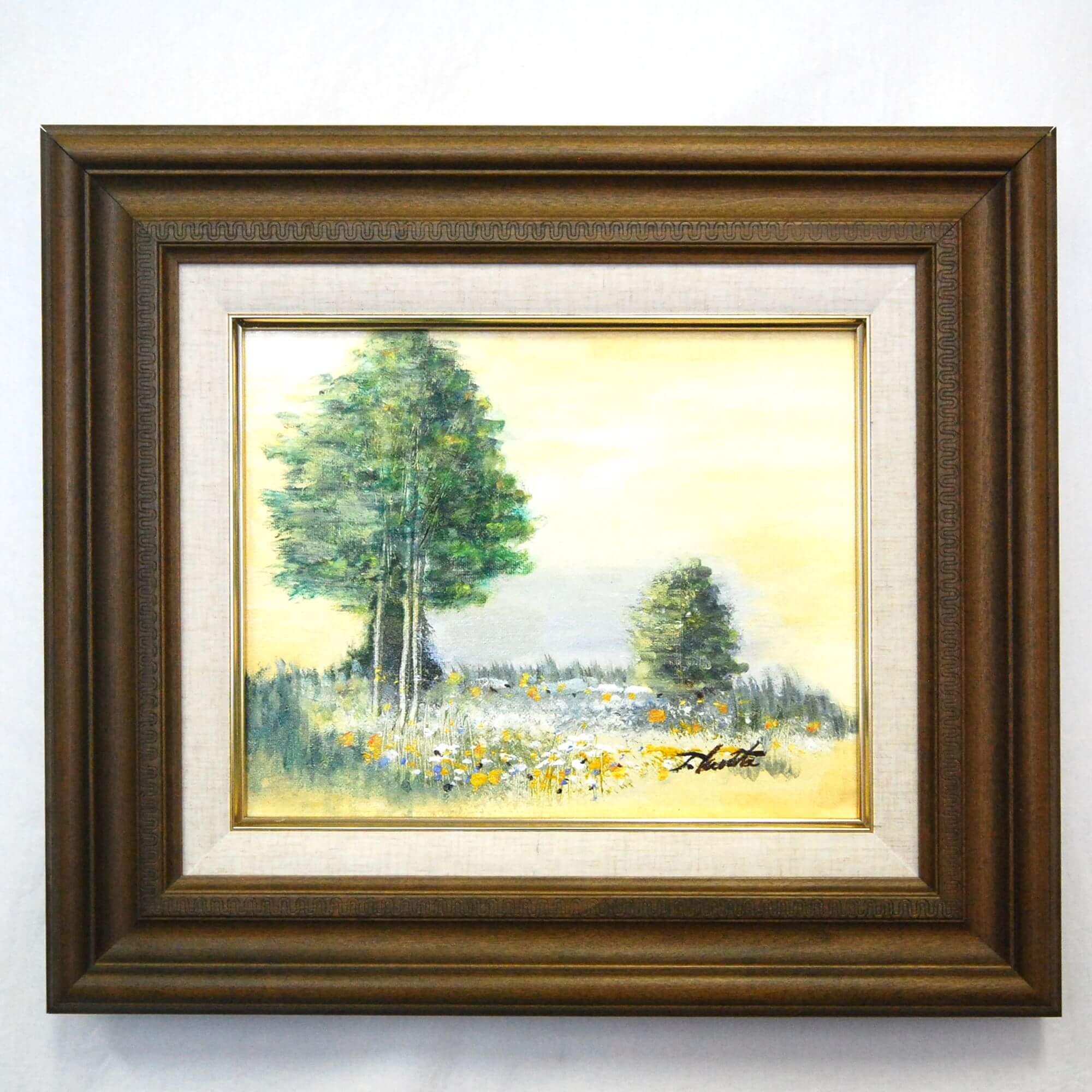 絵画: 油絵 | 倉田敏之 | 幸せのなる木 | F03